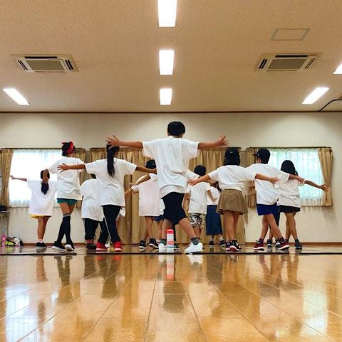 熊本 北区 龍田校 ダンスレッスンの様子