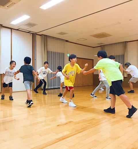 熊本 北区 弓削校 ダンスレッスンの様子
