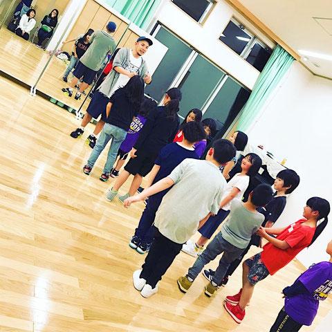 熊本 北区 楡木校 ダンスレッスンの様子