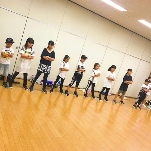 熊本 北区 武蔵校 ダンスレッスンの様子