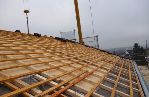 Dachsanierung Einfamilienhaus
