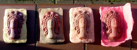Zyprische Göttin als Seifenskulptur