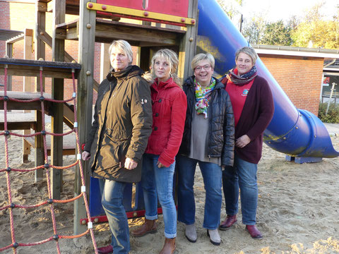 Anja Wendt, Marlies Pape, Silke Hadeler, Imke Jark