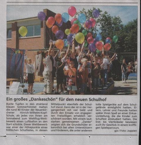 Schulfest am 15.07.06