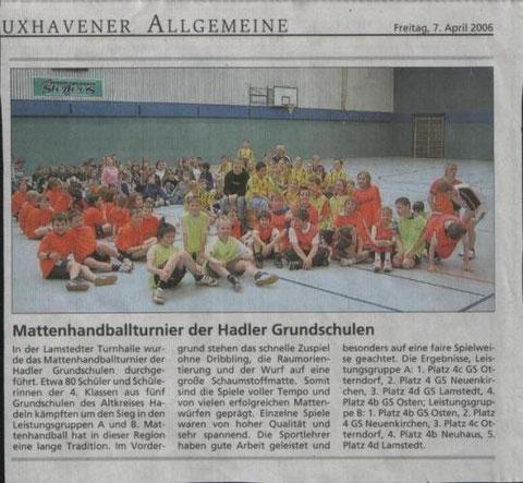 Mattenhandballturnier 2006