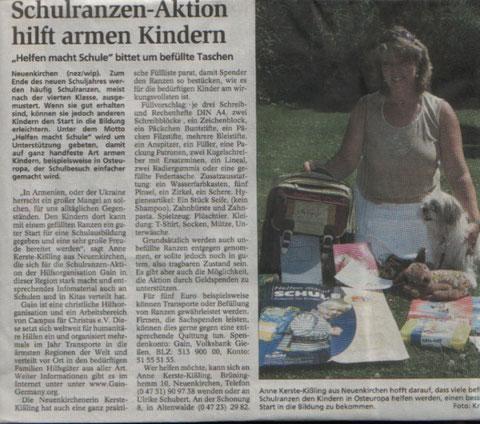 Quelle: Niederelbe-Zeitung vom 3. Juli 2008