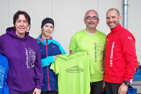 von links: Gisela, Helena, Maximilian, Rafael
