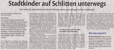 mit freundlicher Genehmigung der Schorndorfer Nachrichten