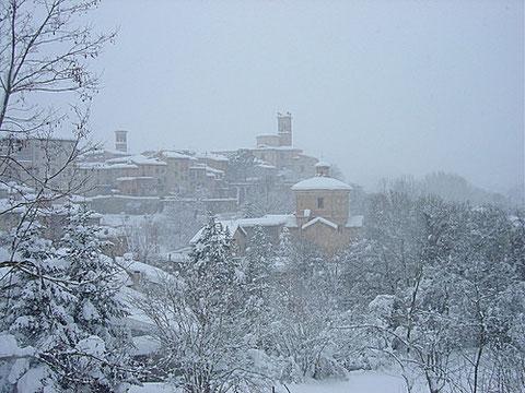 Pergola im Winter Jan05  /   © Giovanni Londei
