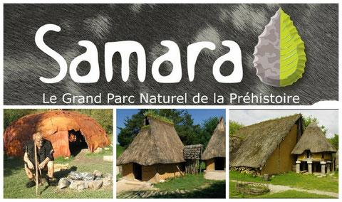 parc samara picardie du paléolithique à l'âge du fer à coté du gite la halte samarienne amiens somme