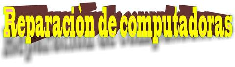 SERVICIO TECNICO DE COMPUTADORAS DE MESA Y PORTATIL