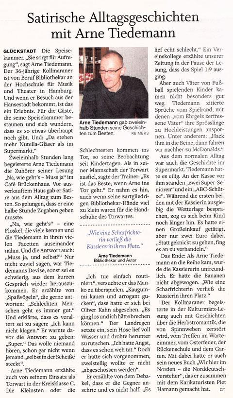 Norddeutsche Rundschau, 23.März 2011