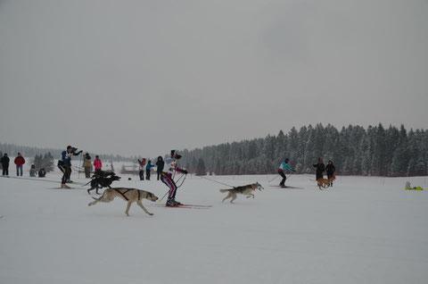 Départ skijo Les Fourgs