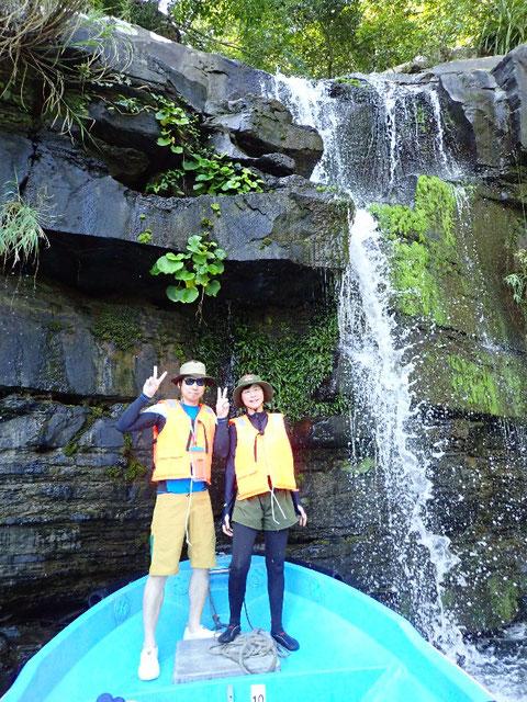 奥西表 船浮周辺の水落の滝へ!