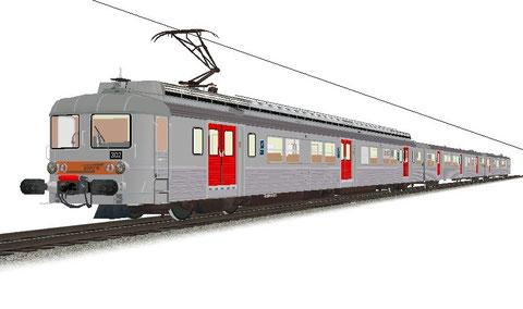 SNCF Z5300 EAS région Ile de France