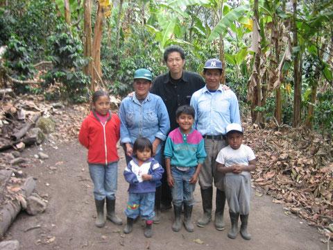 子どもたちに美しい自然を残したいという生産者の家族