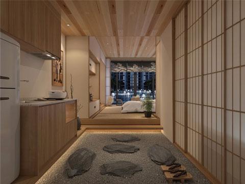 コンド32㎡タイプZEN室内3