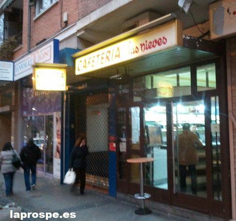 Las Nieves, cafetería