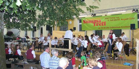 Konzert beim Summatreff 2014