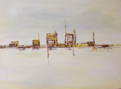 Stadt oder Abstrakt (2016) VERKAUFT