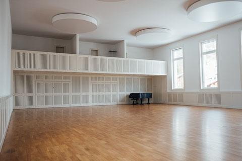 Kursort: Sala da Cultura, Casa da Scola Trun