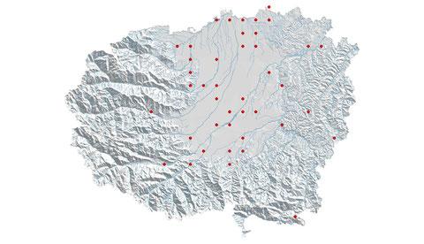 Ischnura elegans distribuzione al 2013 (maglia 5x5)