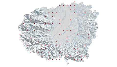 Sympetrum fonscolombii distribuzione al 2013 (maglia 5x5)