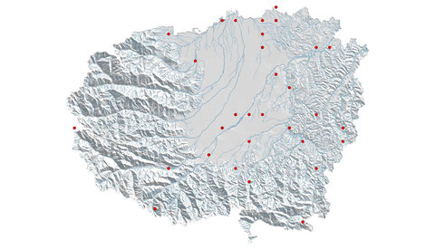 Crocothemis erythraea distribuzione al 2013 (maglia 5x5)