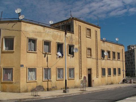 Doc. Céline Swetsloot  -  Le bâtiment logements des pompiers en 2010