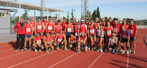 Atletas del Club Maratón Lucena, en la Ciudad Deportiva de Lucena.( Fotos de Ana Dorado, Carmen María Cañete y Jesús Beato).PINCHA MÁS FOTOS.