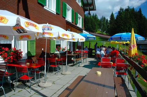 Terasse Berggasthaus