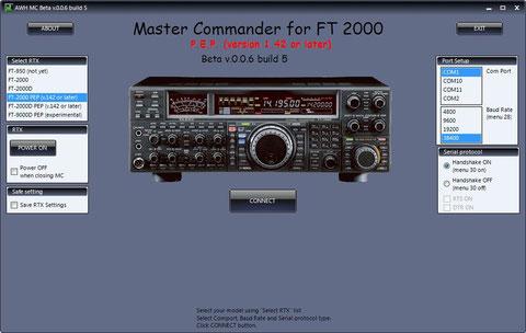 AWH Master Commander Utility