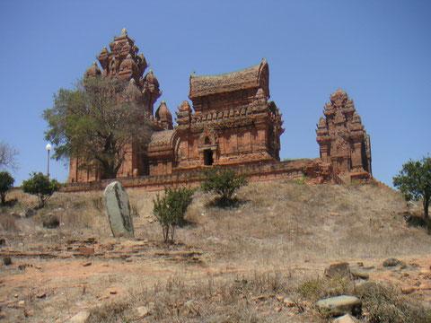 Temple Chiam (prononcer tiam) à Phan Rang