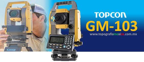 estacion total topcon gm103
