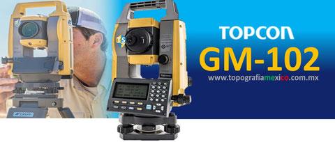 estacion total topcon gm102