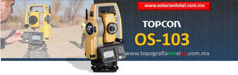 estacion total topcon OS103