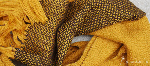 sciarpa tessitura
