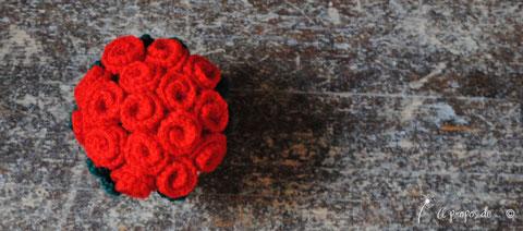 uncinetto, rose
