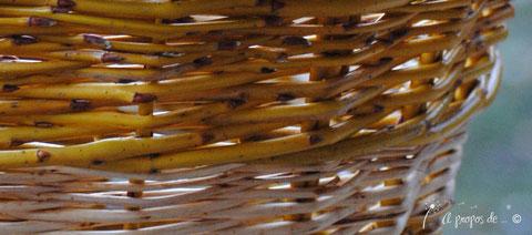 cesto salice giallo manico