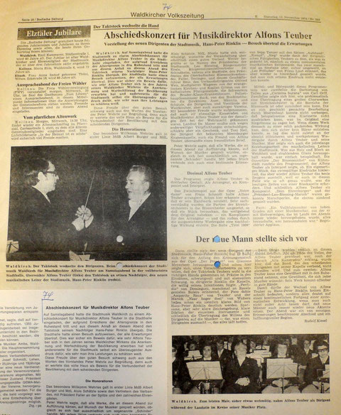 Badische Zeitung, Dienstag 12. November 1974