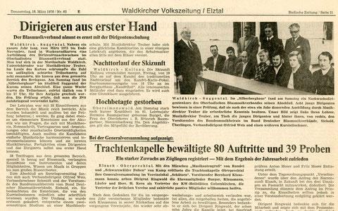 Badische Zeitung, Donnerstag 18. März 1976