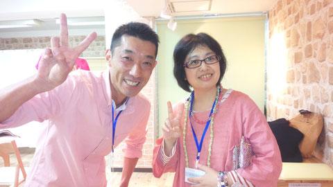 まきちゃん先生と小坂 晋一