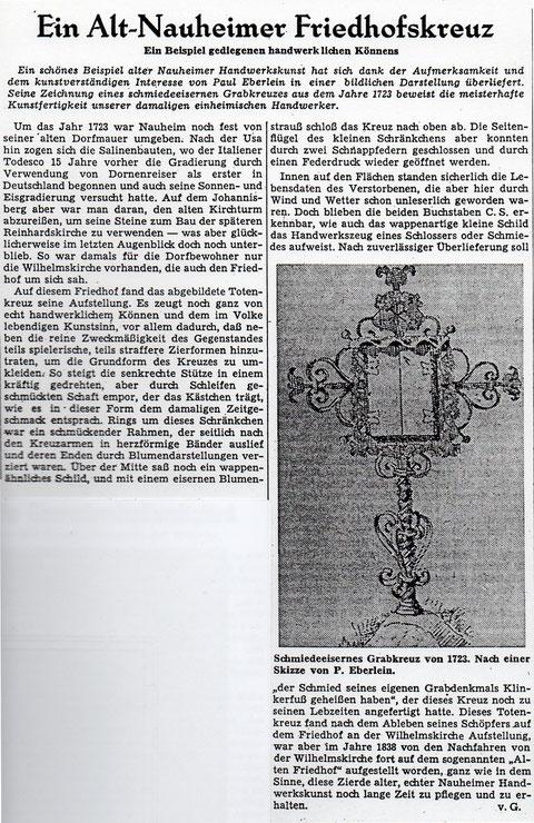 Wetterauer Zeitung vom 17. November 1959 (Text zum Vergrößern anklicken)