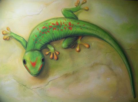 Gecko 75 x 100 cm