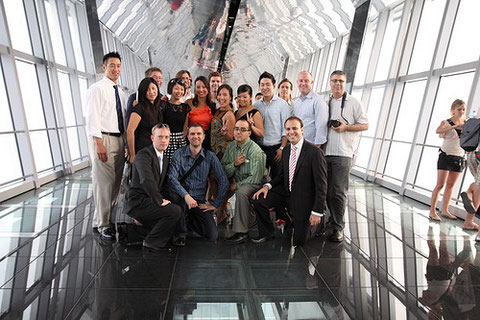 Our visit to the world's tallest observation desk at Shanghai World Financial Center