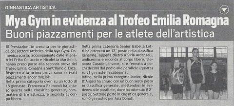 ARTICOLO LO SPORTIVO 20/04/12