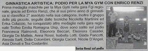 ARTICOLO SAN MARINO OGGI 14/03/13