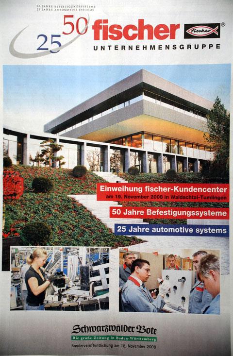 Fischer Werke  Fischer Dübel 50Jahre