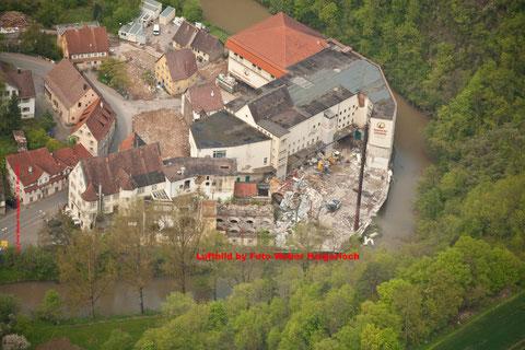 Luftbild 12. Mai 2010 Zöhrlaut Areal