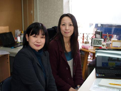 株式会社ママプロ 木村麻里さん、北野香葉さん